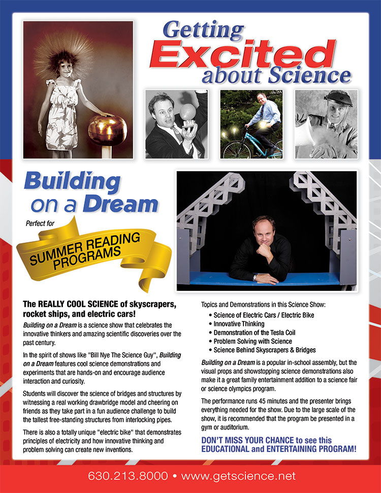 Building on a Dream Science Show